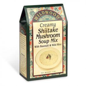 Creamy Shiitake Mushroom Soup Mix with Basmati Rice and Wild Rice