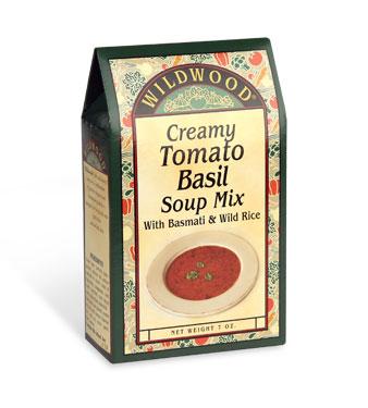 Creamy Tomato Basil Soup Mix with Basmati Rice and Wild Rice