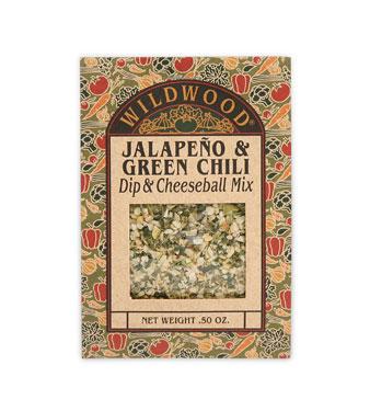 Jalapeno & Green Chili Dip Mix