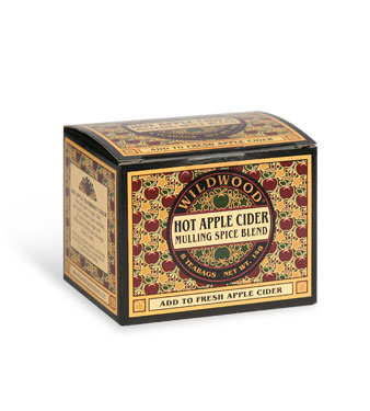 Hot Apple Cider Mulling Spice Teabags  8/Box