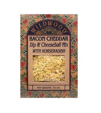 Bacon Cheddar Dip & Cheeseball Mix with Horseradish