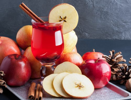 Hot Apple Cranberry Cider